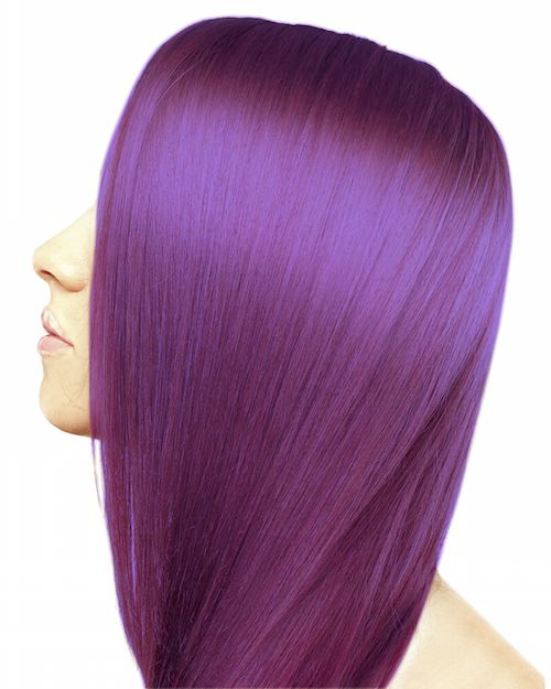 Ion Color Brilliance Semi Permanent Neon Brights Hair Color Radiant Orchid - ION At Home