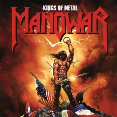 Manowar - Kings of Metal (1988) - cover by Ken Kelly