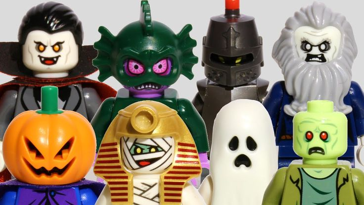 LEGO Scooby-Doo! Monster Minifigures Collection | Vampire, Ghost, Zombie...