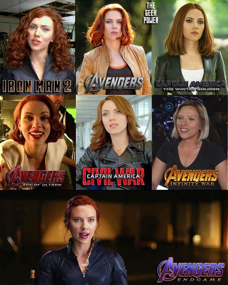 Choose your favorite Black Widow's look throughout the MCU movies ⤵️ – Iron Man 2 (2010) The Avengers (2012) Captain America The Winter…
