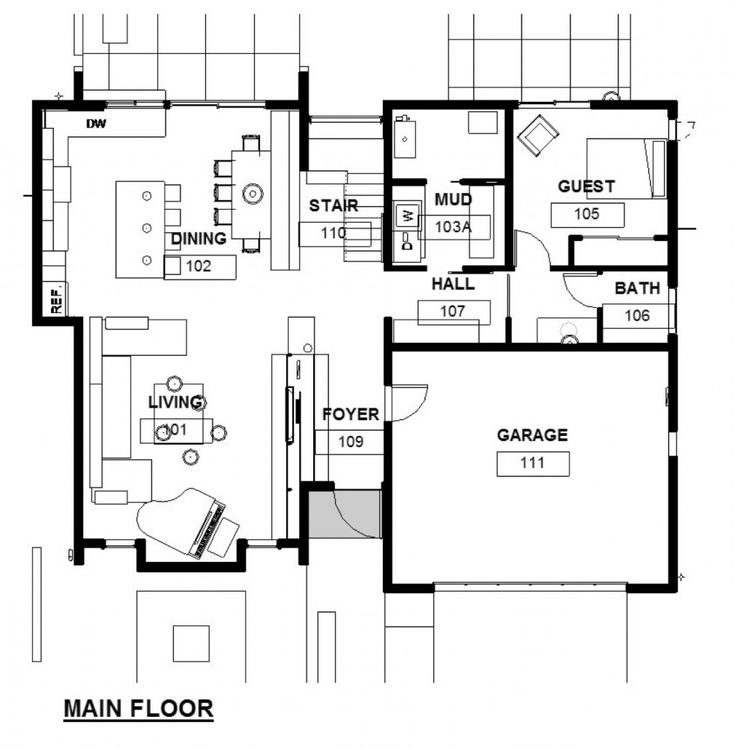 Floor Plans on Green Concept Home Modus V Studio Architects