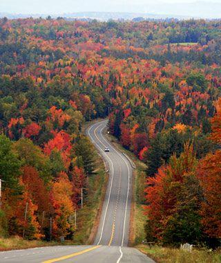 America's Best Fall Color Drives: Moosehead Lake Region, Maine
