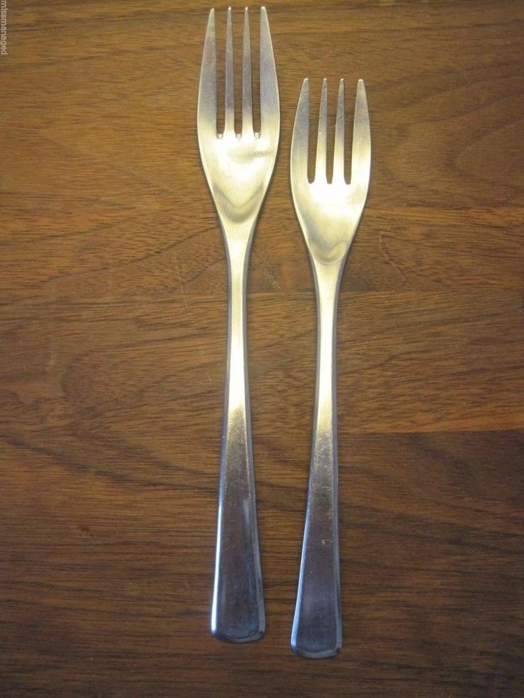 Wmf Spain Domus Salad Fork And Dinner Fork Cromargan