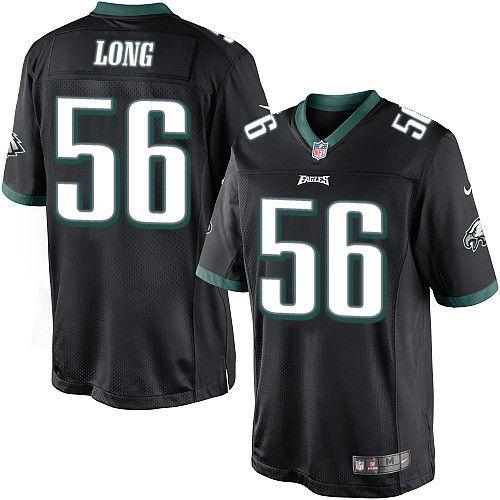 $24.99 Youth Nike Philadelphia Eagles #56 Chris Long Elite Black Alternate NFL Jersey