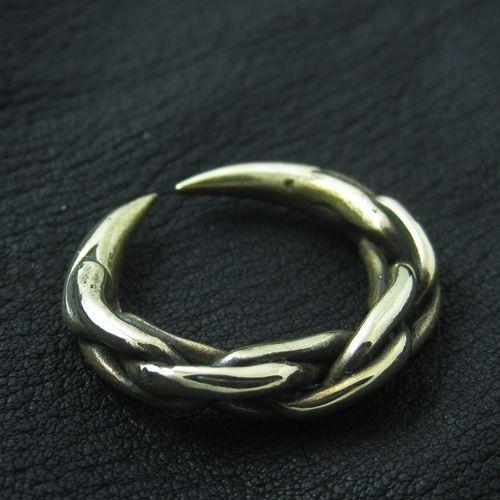 Viking bronze ring. Reenactment. Medieval. Norse. Scandinavia. SCA.