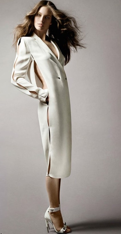 Maybe crate a sheath dress for underneath this coat dress. Classy  FashionWhite ...