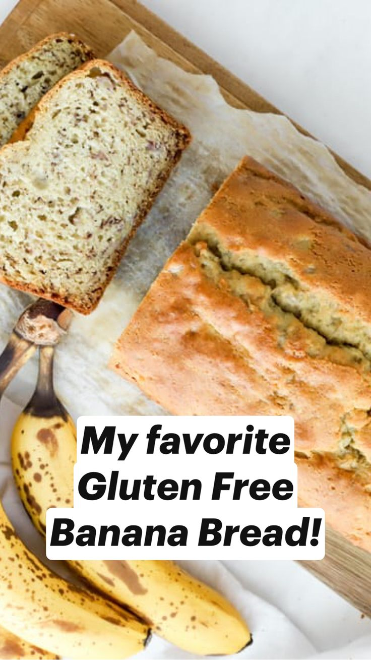Gluten Free Banana Bread, Gluten Free Diet, Gluten Free Desserts, Gluten Free Recipes, Bread Recipes, Low Carb Recipes, Dairy Free, Paleo, Keto