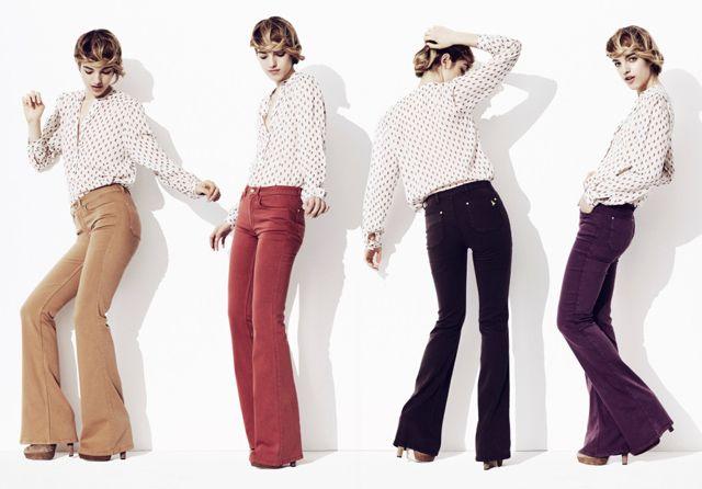 MiH's Skinny Marrakesh - a HWTF favorite!A Mini-Saia Jeans, Colors Pants, Fall Style, Colors Flare, Fall Colors, Jeans Style, Colors Jeans, Mih Jeans, Colors Denim