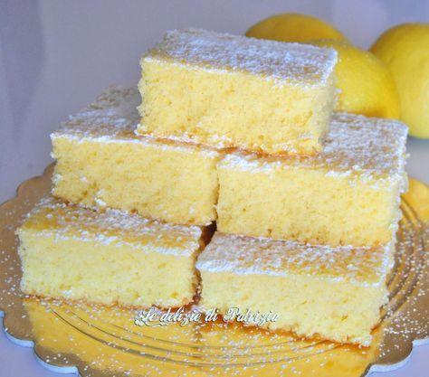 Soffici cubotti al limone (senza lattosio)