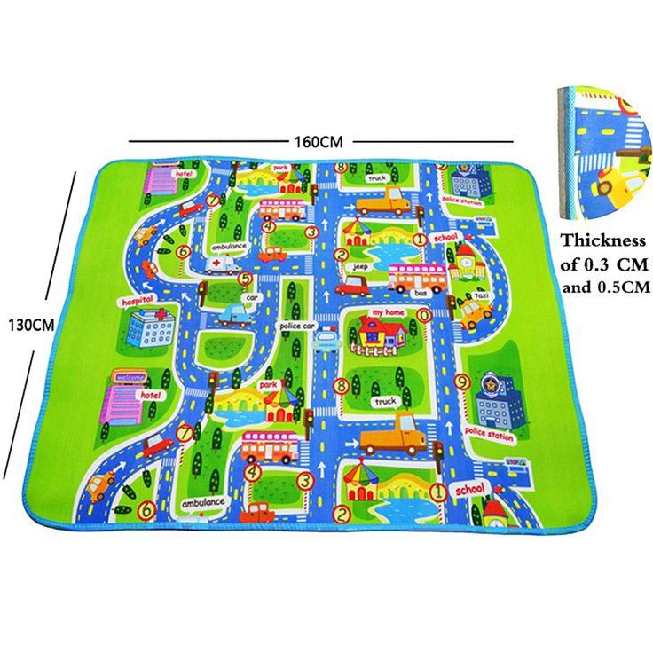 M s de 25 ideas incre bles sobre juegos de alfombra de - Alfombra circuito coches ...