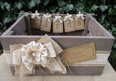 Apple Crate Card Holder Handmade Bunting Vintage Style Wedding Card Post Box  - Wooden Bushel Crate by TheIvoryBow on Etsy