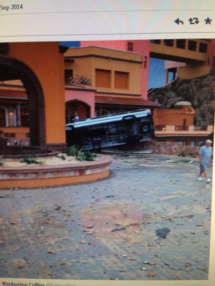 hurricane Odile left a lot of damage and our resort staff and foundation helped hundreds of families rebuild!