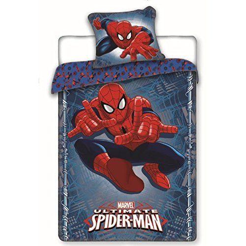 "Character World Single ""Ultimate Spiderman Parker"" Duvet Set"