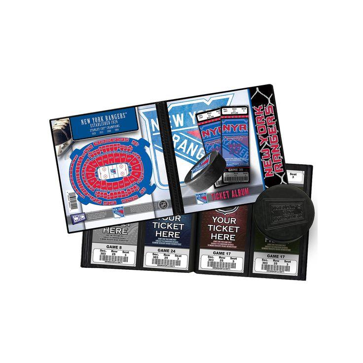 New York Rangers Ticket Album, Multicolor