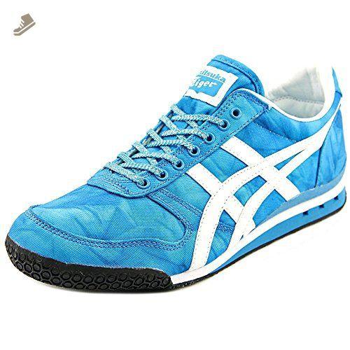 Onistuka Tiger Sakurada, Chaussures Multisport Outdoor Mixte Adulte - Noir (Charcoal/Atomic Blue/Onyx 9748), 36 EUOnitsuka Tiger