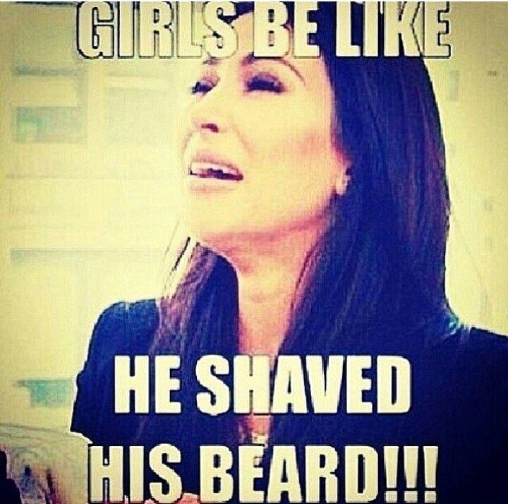Funny beard shaving meme - photo#15