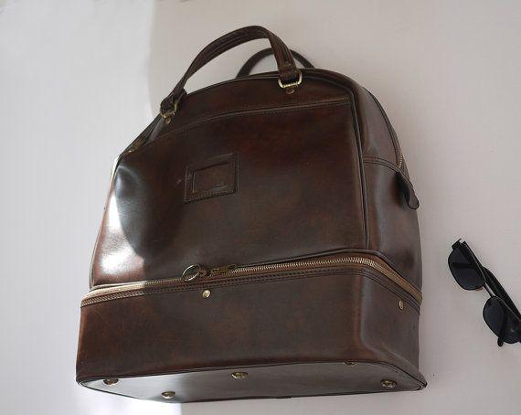 Sac Lafuma à double fond / Bag Vintage par LaMachineaBrocantes