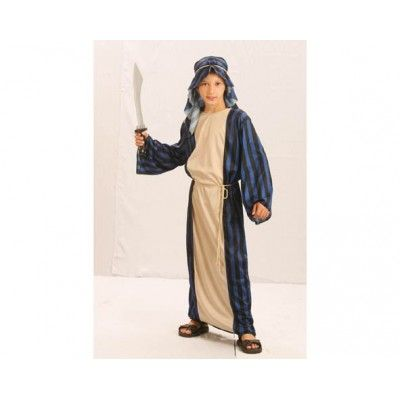 6.30€ - T4-6, 10-12. Disfraz de jeque árabe infantil