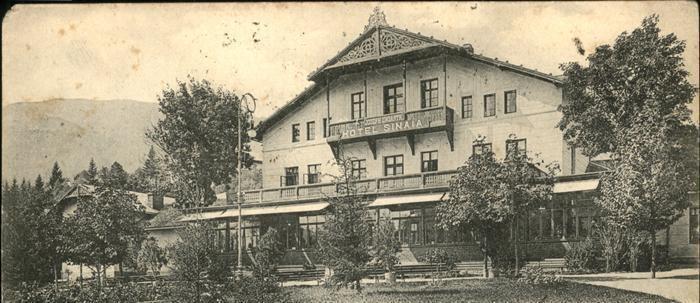 Sinaia - Hotel Sinaia - 1920