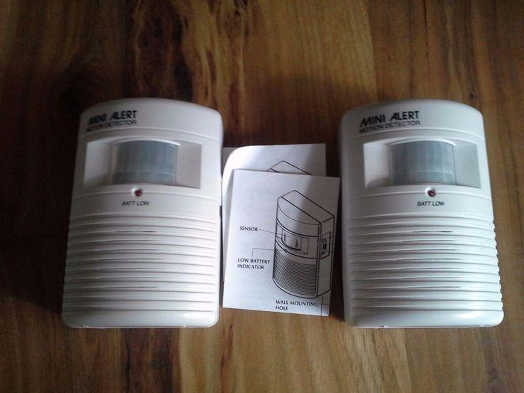 Pair of Mini Alert Infrared Motion Detectors  | eBay