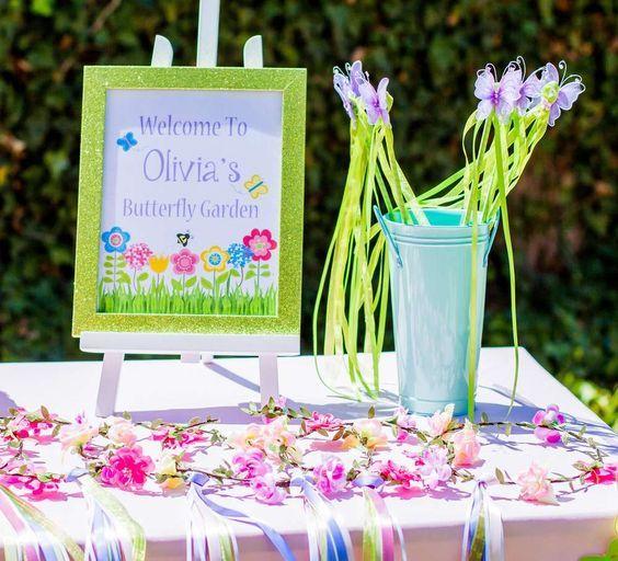Top 25 Best Butterfly Garden Party Ideas On Pinterest