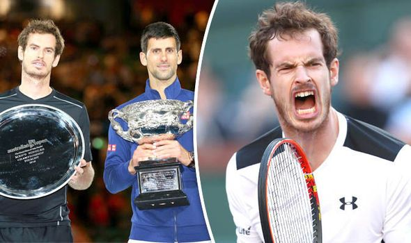 Andy Murray MUST calm down if he is to fulfill his potential says Djokovic's father