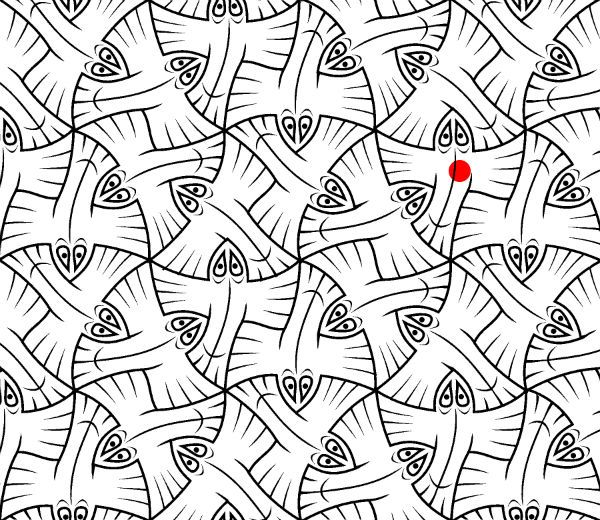 tessellations coloring pages - m c escher tessellation coloring pages coloring pages