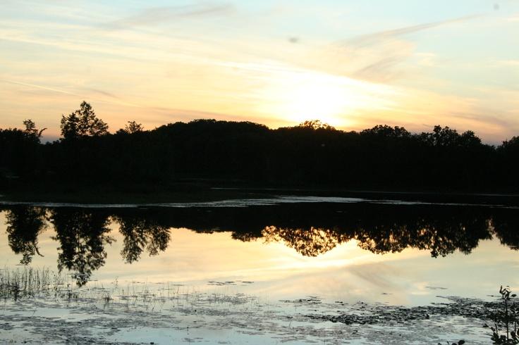 Sunset near Finlayson, MN