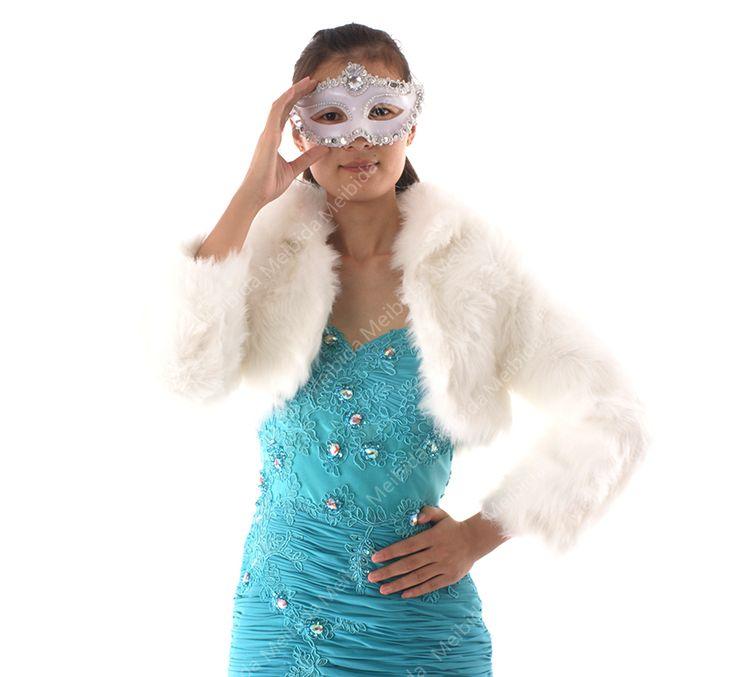 Женщины кот зимняя куртка с мехом 2015 свадебный платок обернуть с рукавами высокое качество свадебные аксессуары сделано в китае