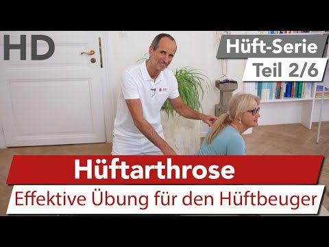 Hüftschmerzen Übungen (Hüftarthrose) zum Mitmachen // Hüfte, Arthrose, Hüftarthrose - YouTube