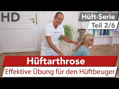 Hüftschmerz Übung (Hüftarthrose) // Effektive Übung gegen Hüftarthrose - YouTube