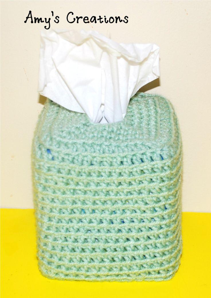 Stitch Of Love Free Pattern Crochet Catherine Wheel Tissue Box Cover : Meer dan 1000 afbeeldingen over Tissue box op Pinterest ...