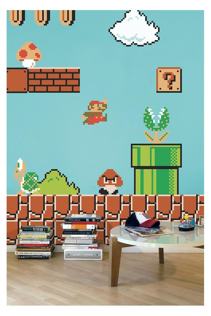 27 best wall decals images on pinterest architecture art walls the nintendo super mario bros re stik wall decal by blik use rep code olive for off amipublicfo Gallery