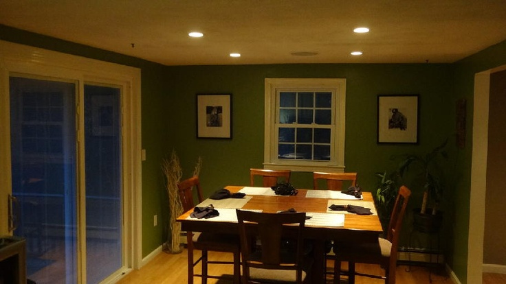 Recessed Lighting Dining Rooms
