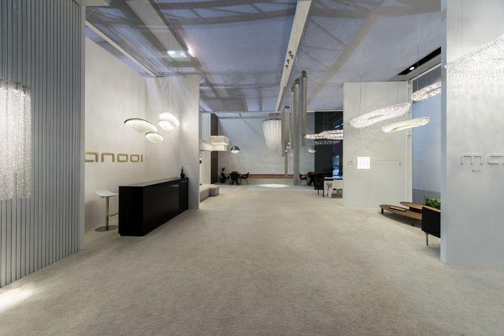 Euroluce 2015 Crystal Chandelier Manooi www.manooi.com #Manooi #Chandelier #CrystalChandelier #Design #Lighting #Euroluce