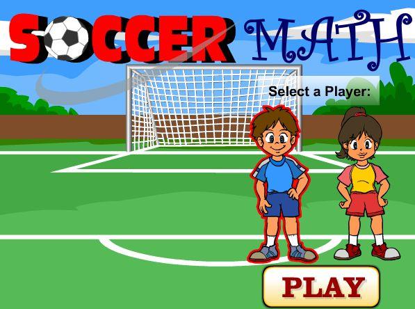 Сложение десятичных дробей Игра Футбол