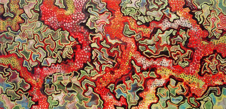 "Saatchi Art Artist: Tron Kittelsen; Oil 2010 Painting """"Andalucian doggy landscape"""""