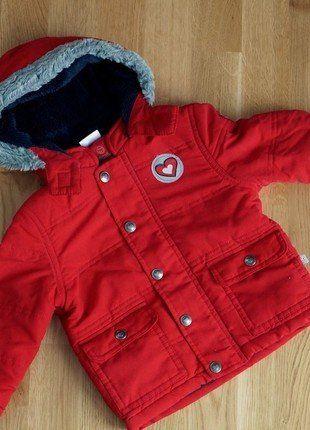 Kaufe meinen Artikel bei #Mamikreisel http://www.mamikreisel.de/kleidung-fur-madchen/outdoorbekleidung-jacken/34741542-winterjacke-rot-80