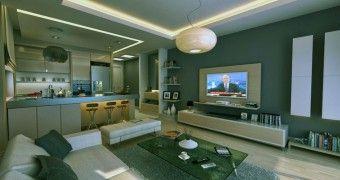 Mini Bar Modern for Living Room Apartment reference
