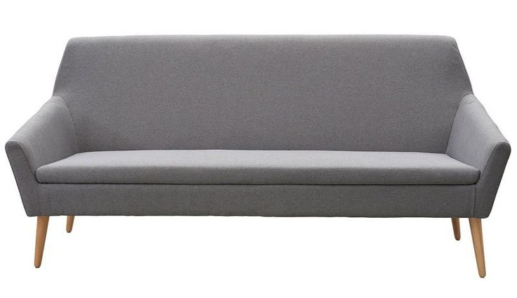Kant+Sofa+-+Grå+minimalistisk+2-pers.+sofa+fra+House+Doctor.+Sofaen+er+udført+i+nordisk+stil+der+kommer+til+udtryk+i+sofaens+enkle+form+samt+smukke+træben.+Ekstra+god+siddekomfort+med+polstret+sæde.+Sofaen+vil+passe+ind+i+de+fleste+indretningsstile+grundet+det+enkle+og+stilrene+design.+