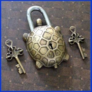 Tibetan Turtle Lock