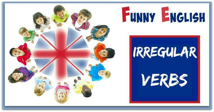Una forma fácil de aprender los verbos irregulares en inglés. ¡ IMPRESCINDIBLE !