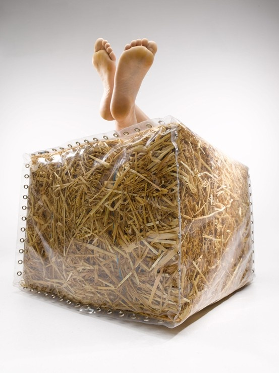 Baley straw furniture by Neil Barron from Gusto, £81.70