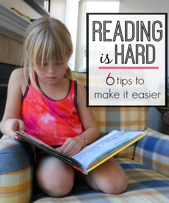 Reading IS hard! These reading tips for parents make it easier!