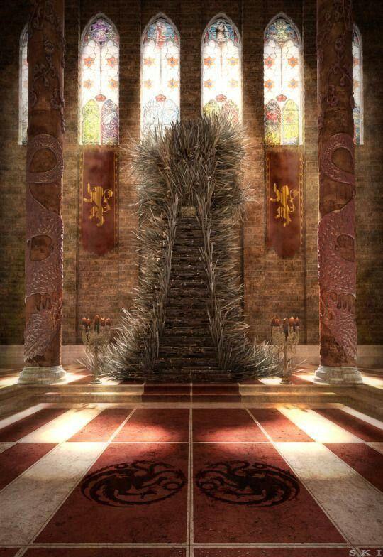 359 best art targaryen dynasty images on pinterest for Iron throne painting