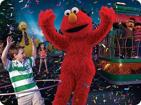 Sesame Street Elmo show