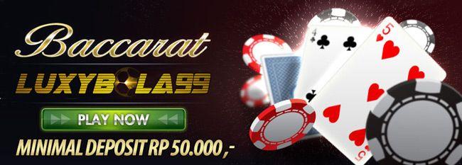 Judi Baccarat Online adalah sebuah Permainan menggunakan kartu remi,hanya ada di Sbobet Online untuk Live Casino Judi Baccarat Online Terpercaya.