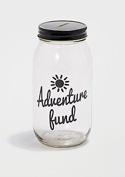 Adventure Fund Mason Jar Bank rue 21