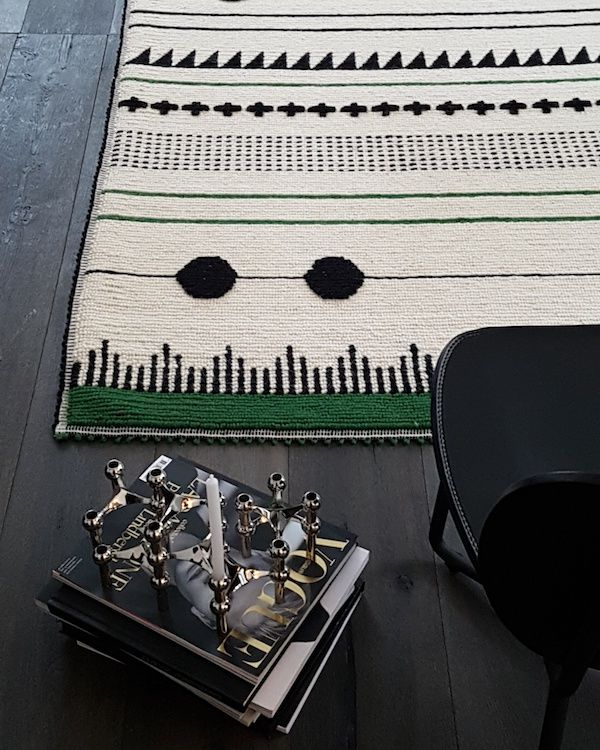 vosgesparis: T-Fish rug collection by Caterina Frongia | Sardinian craft  & STOFF® candle holders