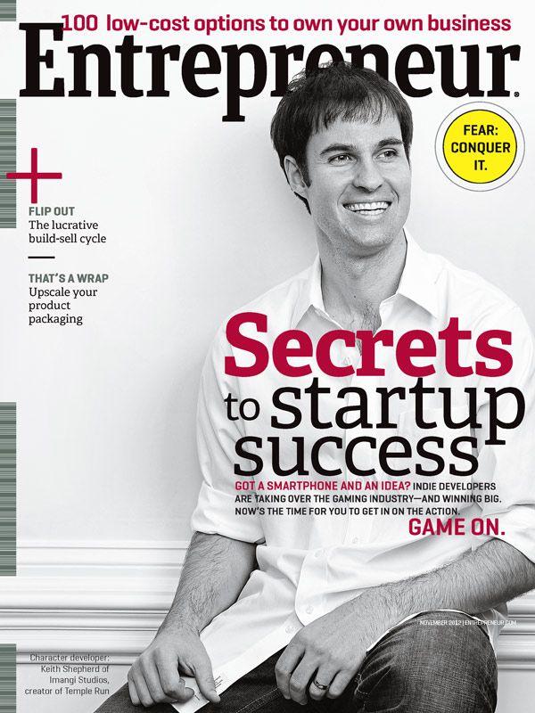 A subscription to entrepreneur magazine